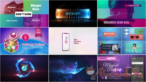 VideoHivePack - 607 (After Effects Projects Pack)