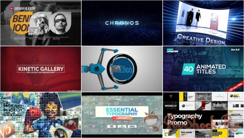 VideoHivePack - 611 (After Effects Projects Pack)