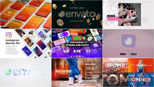 VideoHivePack - 622 (After Effects Projects Pack)
