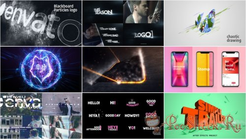VideoHivePack - 623 (After Effects Projects Pack)