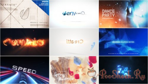 VideoHivePack - 624 (After Effects Projects Pack)