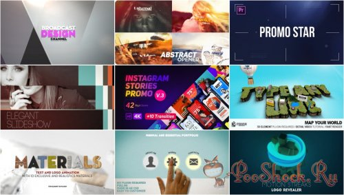 VideoHivePack - 631 (After Effects Projects Pack)