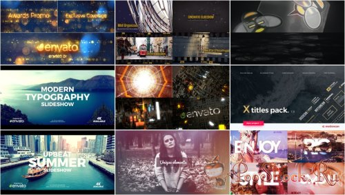 VideoHivePack - 632 (After Effects Projects Pack)