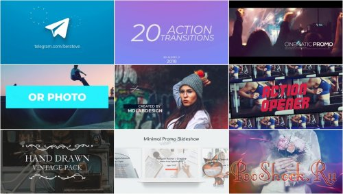 Premiere Pro Projects Pack - 27 (Motion Array)