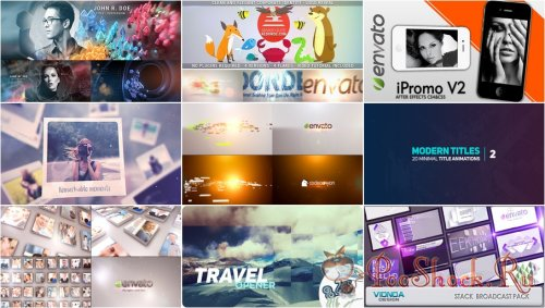 VideoHivePack - 637 (After Effects Projects Pack)