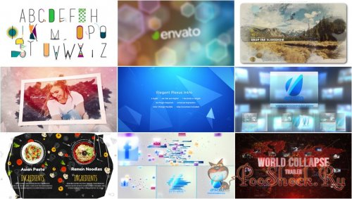 VideoHivePack - 639 (After Effects Projects Pack)