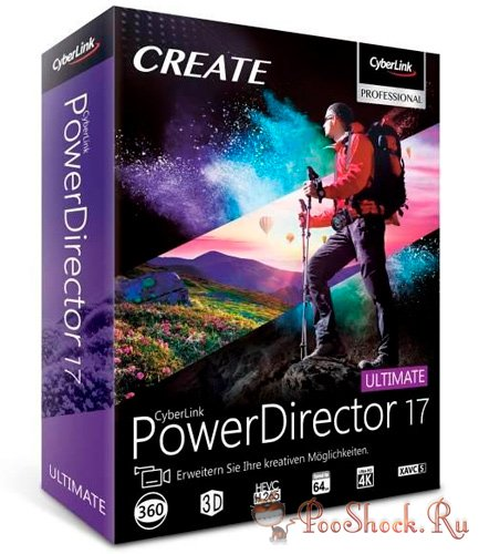 PowerDirector Ultimate 17.0.2126.0 RUS RePack