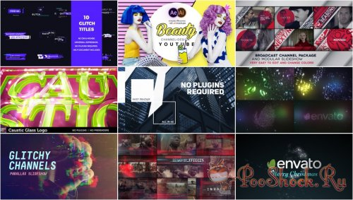 VideoHivePack - 642 (After Effects Projects Pack)