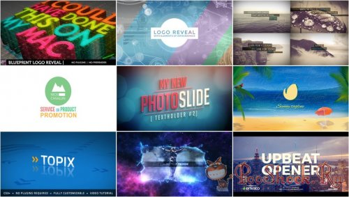 VideoHivePack - 643 (After Effects Projects Pack)