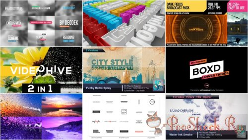 VideoHivePack - 644 (After Effects Projects Pack)
