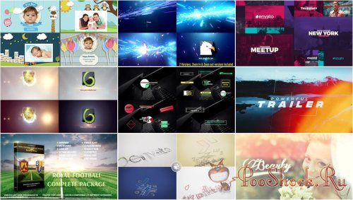 VideoHivePack - 645 (After Effects Projects Pack)