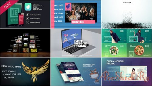 VideoHivePack - 658 (After Effects Projects Pack)
