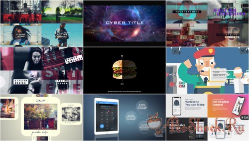 VideoHivePack - 663 (After Effects Projects Pack)