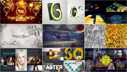 VideoHivePack - 677 (After Effects Projects Pack)