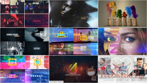 VideoHivePack - 685 (After Effects Projects Pack)