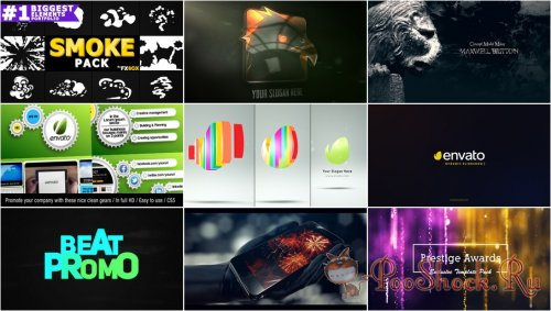 VideoHivePack - 689 (After Effects Projects Pack)