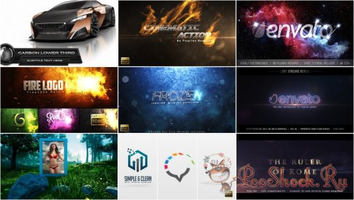 VideoHivePack - 699 (After Effects Projects Pack)