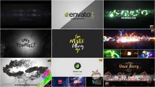 VideoHivePack - 700 (After Effects Projects Pack)