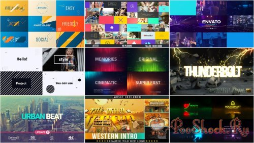VideoHivePack - 702 (After Effects Projects Pack)