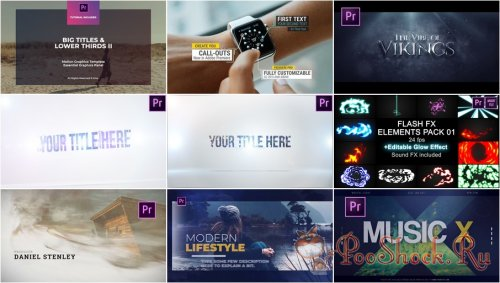 Premiere Pro Projects Pack - 29 (VideoHive)