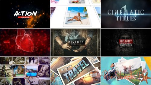 VideoHivePack - 711 (After Effects Projects Pack)