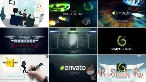 VideoHivePack - 746 (After Effects Projects Pack)