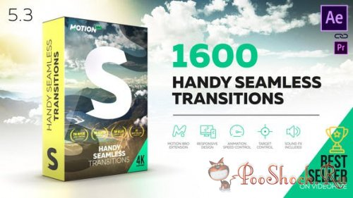 Handy Seamless Transitions 5.3 (for After Effects)