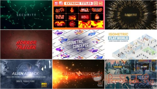VideoHivePack - 754 (After Effects Projects Pack)