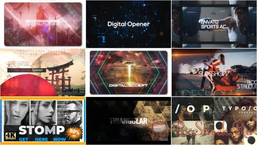 VideoHivePack - 770 (After Effects Projects Pack) - [Opener]