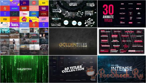 VideoHivePack - 773 (After Effects Projects Pack) - [Titles]