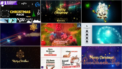 VideoHivePack - 778 (After Effects Projects Pack) - [Christmas]