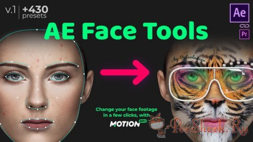 AE Face Tools (for After Effects)