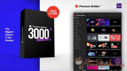 PremiumBuilder Motion Pack v2 (for After Effects)