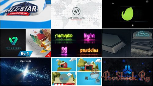VideoHivePack - 785 (After Effects Projects Pack) - [Logo]