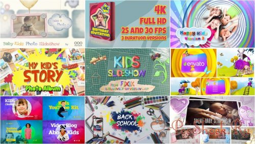 VideoHivePack - 788 (After Effects Projects Pack) - [Kids]