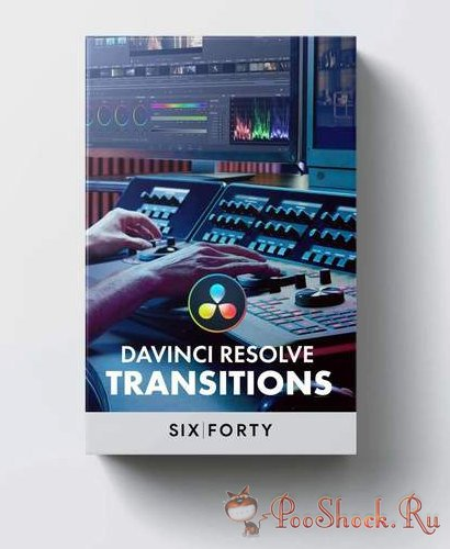 40+ Transitions Pack for DaVinci Resolve