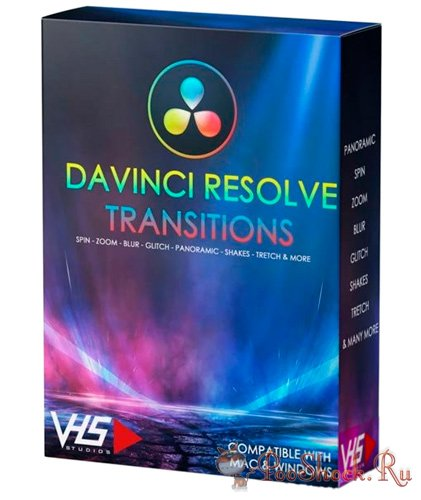 DaVinci Resolve Transitions + Bonus: Flares