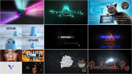 VideoHivePack - 790 (After Effects Projects Pack) - [logo]