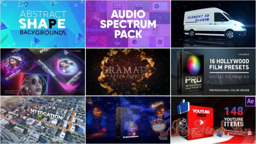 VideoHivePack - 793 (After Effects Projects Pack)