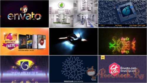 VideoHivePack - 795 (After Effects Projects Pack) - [Logo]