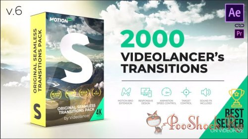 Original Seamless Transitions Pack v6.1 (for After Effects)