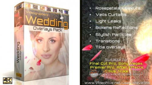 Wedding Overlays Pack (MOV)
