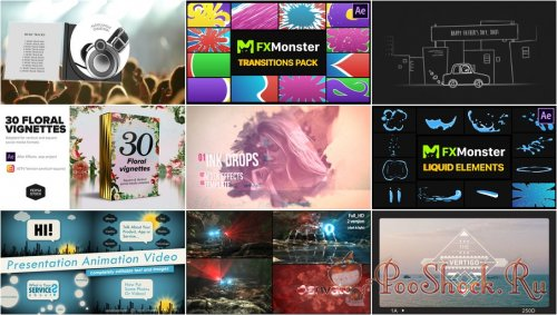 VideoHivePack - 813 (After Effects Projects Pack)