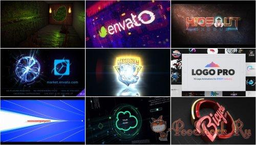 VideoHivePack - 827 (After Effects Projects Pack) - [Logo]