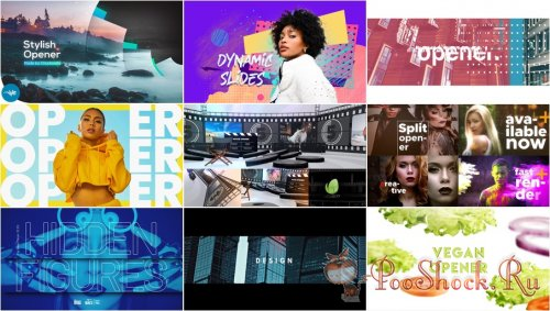 VideoHivePack - 828 (After Effects Projects Pack) - [Opener]