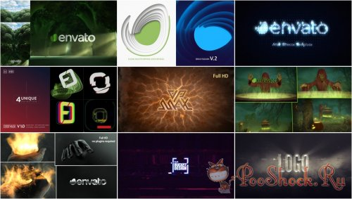 VideoHivePack - 833 (After Effects Projects Pack) - [Logo]