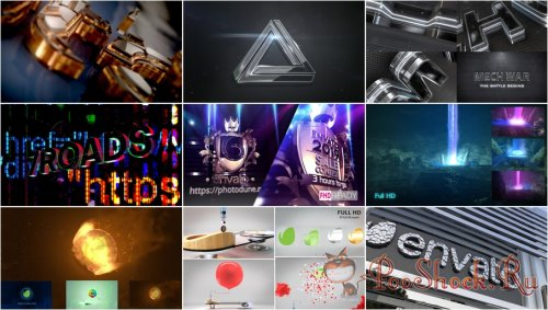 VideoHivePack - 834 (After Effects Projects Pack) - [Logo]