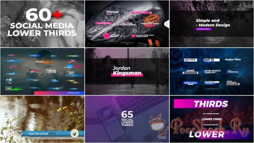 VideoHivePack - 836 (After Effects Projects Pack) - [Lower Thirds]
