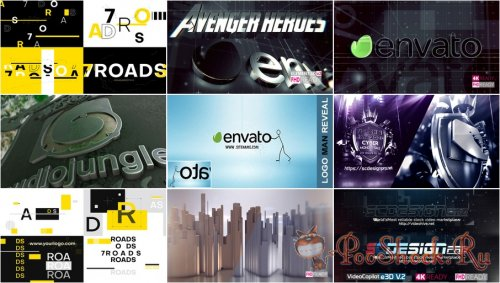 VideoHivePack - 837 (After Effects Projects Pack) - [Logo]