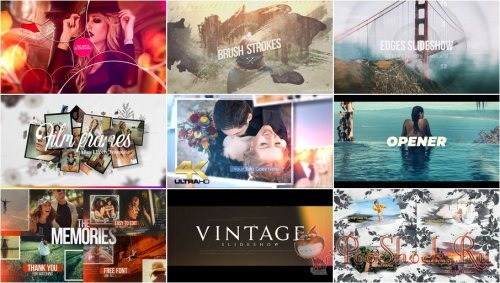 VideoHivePack - 851 (After Effects Projects Pack) - [Slideshow]